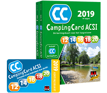 Cheap Camping with ACSI-card!